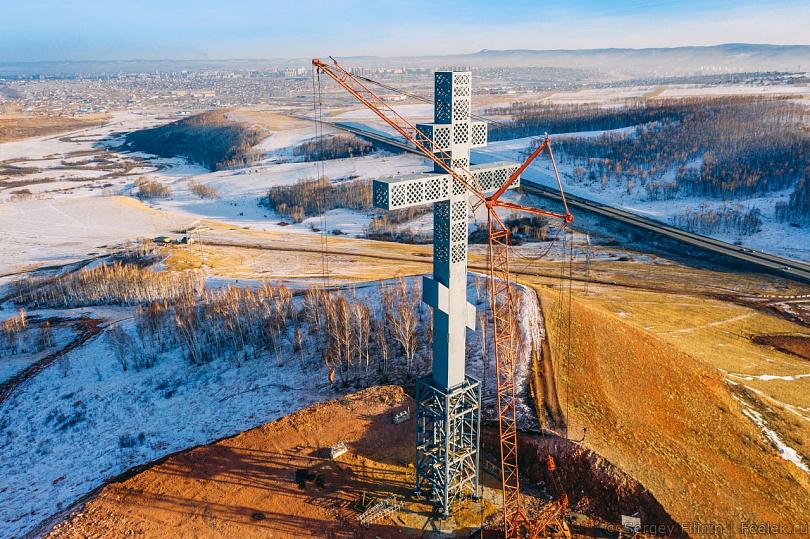 поклонные кресты в россии история вопроса красноярская